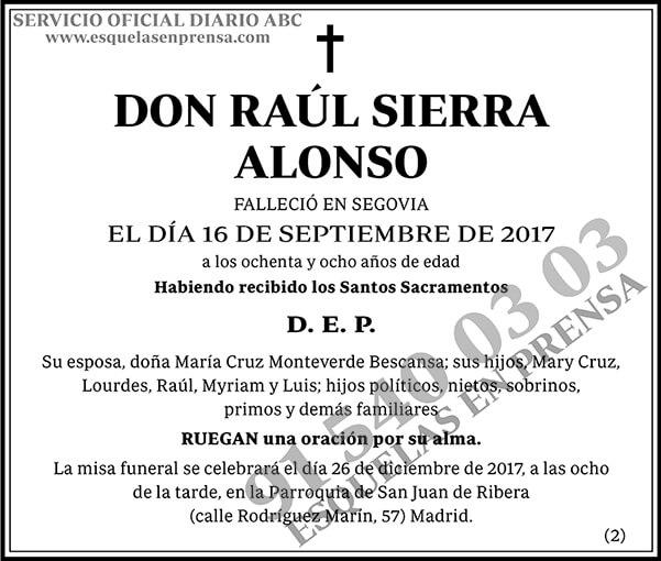 Raúl Sierra Alonso